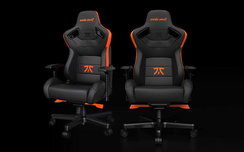 Andaseat globally provides professional gaming-seat solutions with FNATIC e-Sports team