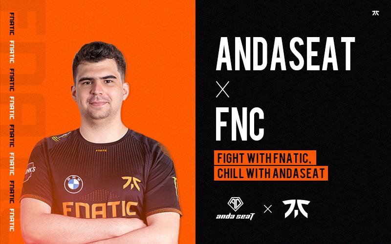 AndaSeat and FNATIC Esport Team Renew Strategic Partnership!