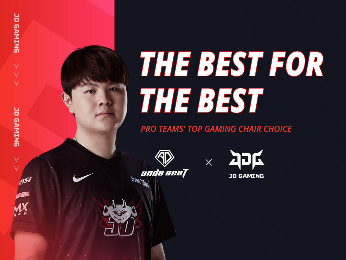 AndaSeat Announces Partnership with JD Gaming